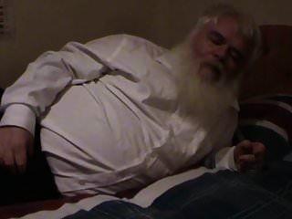 뚱뚱한 노인 wanking