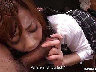 지저분한 일본 비서는
