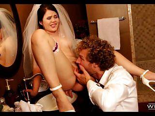 가장 좋은 남자는 그녀의 결혼식 날에 신부를 성교한다.