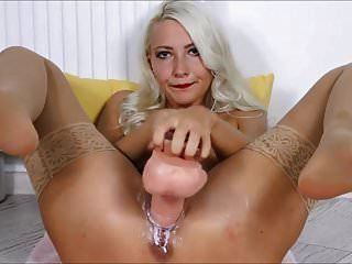 squirting queen : 8 개의 squirts \u0026 creamy pussy 자위