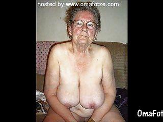 여분의 오래 된 아마추어 할머니 컬렉션 omafotze
