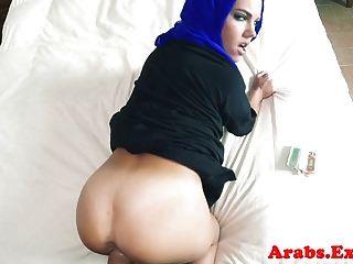아라비아 이슬람 아마추어 입에 질내 사정