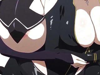 거대한 애니메이션 레즈비언 재미있는 가슴